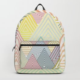 Pastel Mountains Backpack