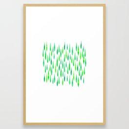 Jade Jewels Framed Art Print