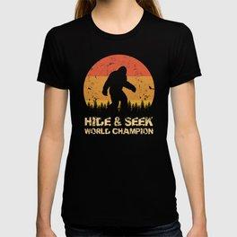 Vintage Hide And Seek World Champion Bigfoot Sasquatch T-shirt