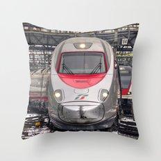 Italian Express Throw Pillow