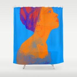 Woman II Shower Curtain