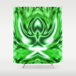 Greeting of the Spring Shower Curtain