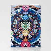 chakra Stationery Cards featuring Earth Chakra by The Art of Eric Carson