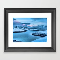 Clouds Roll In Framed Art Print