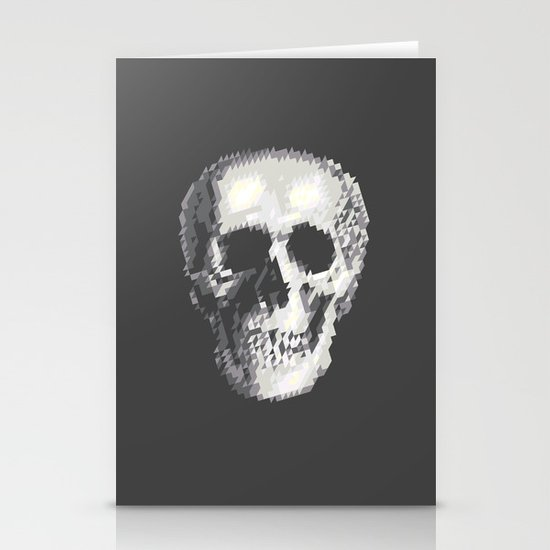 Tri Skull Stationery Cards