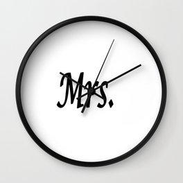 Mrs. Wall Clock