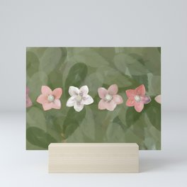 Flower Christmas Rose Mini Art Print
