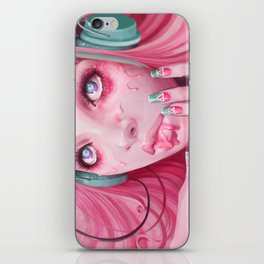 FaceMelt iPhone Skin