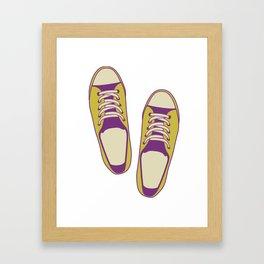 converse all star Framed Art Print