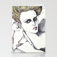 rogue Stationery Cards featuring Rogue by Rachel E Murray