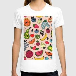 Fruity pattern T-shirt