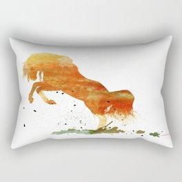 HORSES -Wild mountain pony Rectangular Pillow