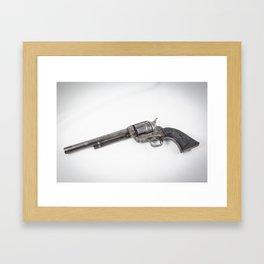 Guns Of The Old West #3, Colt .45 Framed Art Print