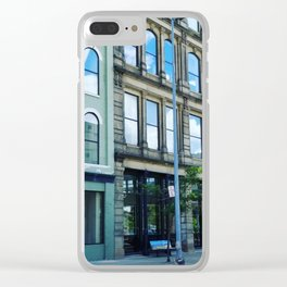 Toledo  Downtown Clear iPhone Case