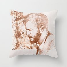 Bon Iver (Justin Vernon) Throw Pillow