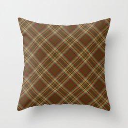 Scottish tartan #12 Throw Pillow