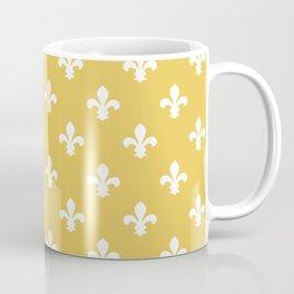 Honey Southern Cottage Fleur de Lys Coffee Mug