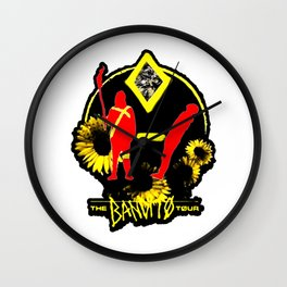 The Bandit Tour Wall Clock