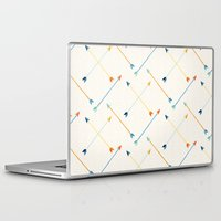 arrows Laptop & iPad Skins featuring Arrows by Badger & Bee