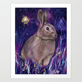 Rabbit Spirit Art Print