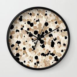 Pattern Dots Wall Clock