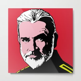 Sean Connery The hunt for red october Metal Print