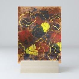 Squiggles Mini Art Print