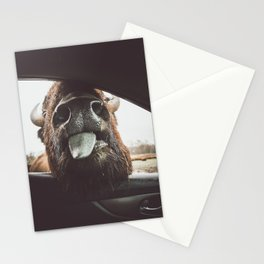 Bison Wassup Stationery Cards