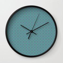 jade geometric Wall Clock