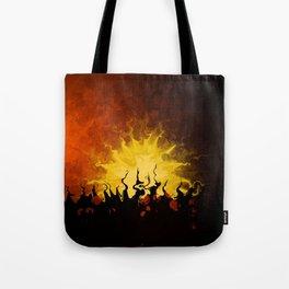 Trembling Sunset Tote Bag