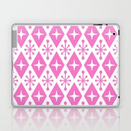 Mid Century Modern Atomic Triangle Pattern 128 Laptop & iPad Skin