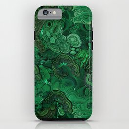 malachite iPhone Case
