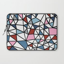 Segment Pink and Blue Laptop Sleeve