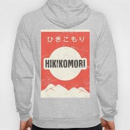 HIKIKOMORI - Vintage Japanese Anime Poster Hoody