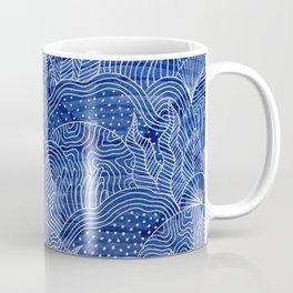 Coral Reef - Indigo Coffee Mug