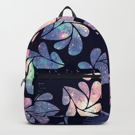 Afro Diva Mauve Teal Galaxy Backpack