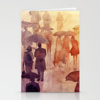 takmaj Stationery Cards featuring Summer day by takmaj