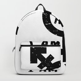 I'm trans and I'm proud to be homo bi hete Backpack