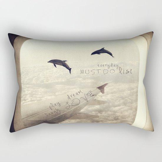 Dolphins Rectangular Pillow