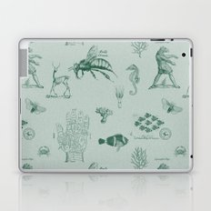 vintage ephemera mint Laptop & iPad Skin