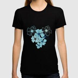 Blue Poppy Bash T-shirt