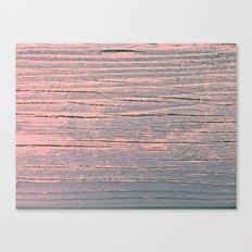 Rustic pastel weathered wood Canvas Print