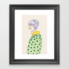 Something for November Framed Art Print