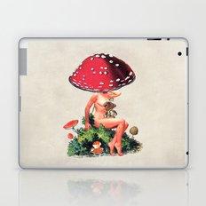 Shroom Girl Laptop & iPad Skin