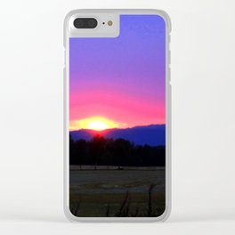 What light tonight Clear iPhone Case