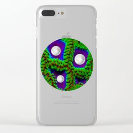 Gaia | Planet Earth into a New Dimension Clear iPhone Case