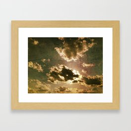 Clouds #1 Framed Art Print