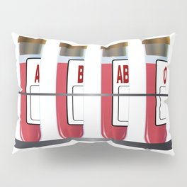 Blood Group Samples Pillow Sham
