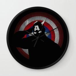SuperHeroes Shadows : Captain America Wall Clock