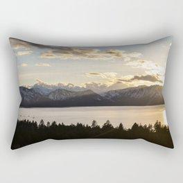 Top Floor Lake Tahoe Rectangular Pillow